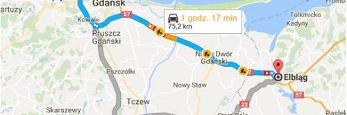 Lotnisko Gdańsk - Elbląg