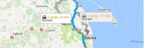 Lotnisko Gdańsk - Jastrzębia Góra