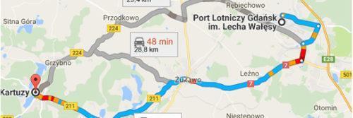 Lotnisko Gdańsk - Kartuzy
