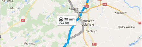 Gdańsk Centrum - Postołowo Golf Club