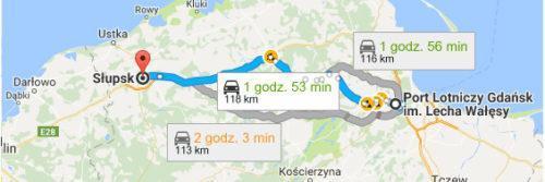 Lotnisko Gdańsk - Słupsk