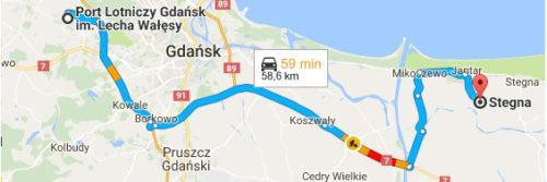 Lotnisko Gdańsk - Stegna