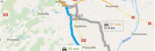 Lotnisko Gdańsk - Tczew