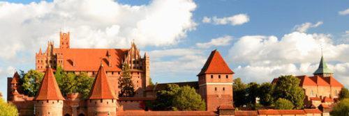 wycieczka na zamek a Malborku